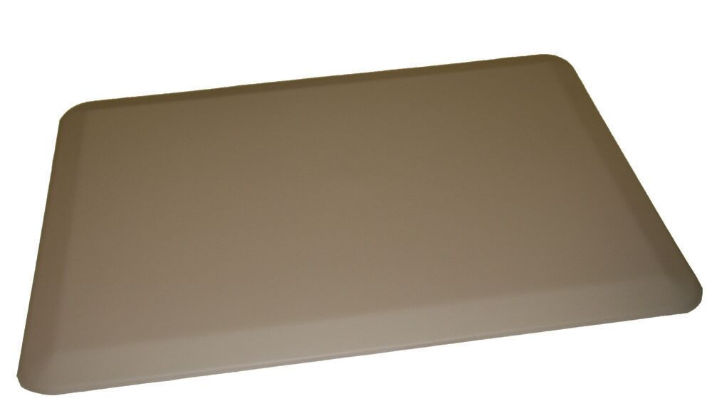 Anti-Fatigue Comfort Kitchen Mat Mat Size: 2' x 6', Color: Light Gray
