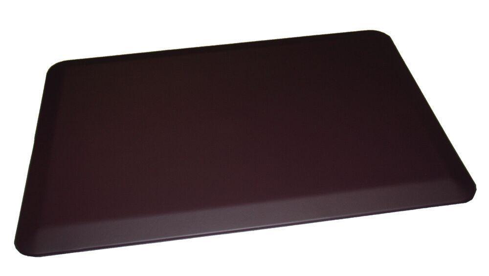 Anti-Fatigue Comfort Kitchen Mat Mat Size: 2' x 4', Color: Deep Purple