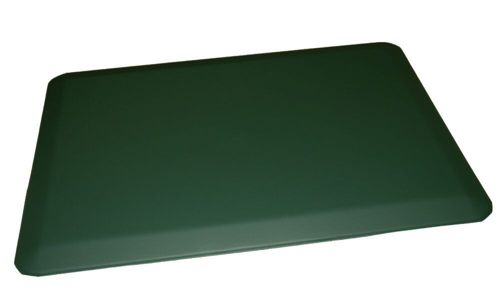 Anti-Fatigue Comfort Kitchen Mat Color: Forest Green, Mat Size: 2' x 6'