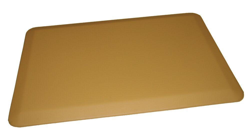 Anti-Fatigue Comfort Kitchen Mat Mat Size: 2' x 6', Color: Light Tan