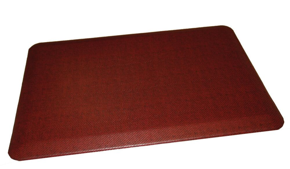 Anti-Fatigue Comfort Kitchen Mat Mat Size: 2' x 4', Color: Deep Red