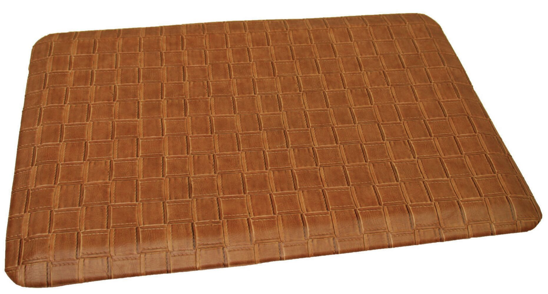 Anti-Fatigue Comfort Kitchen Mat Mat Size: 2' x 6', Color: Traditional Tanned