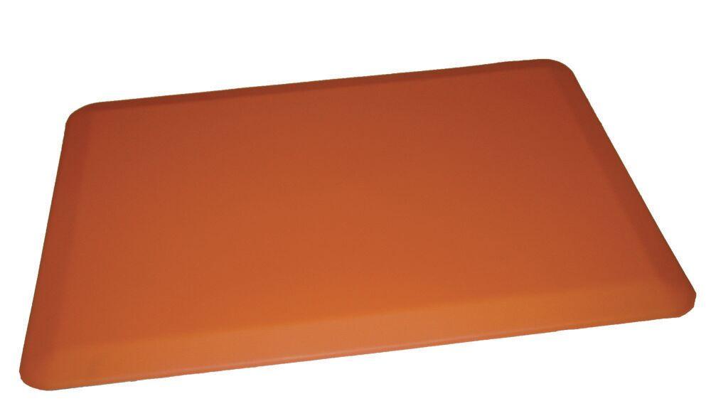 Anti-Fatigue Comfort Kitchen Mat Mat Size: 2' x 6', Color: Orange
