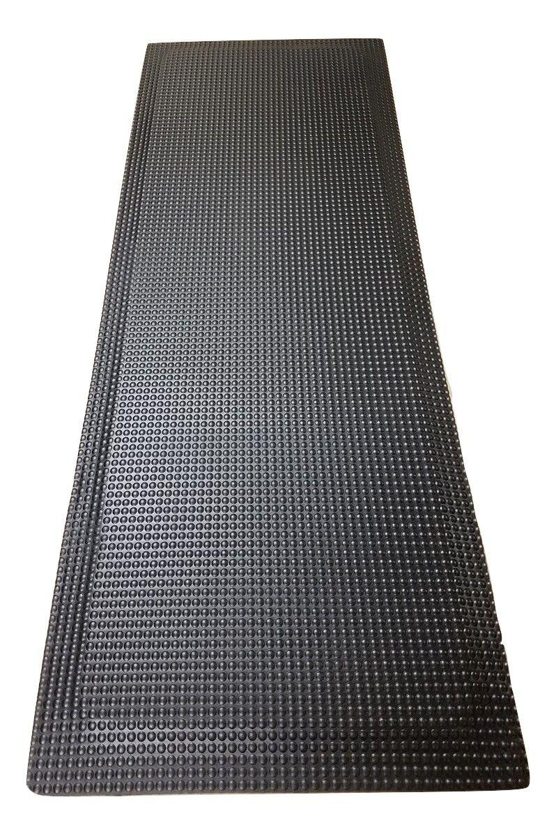 Relfex Anti-Fatigue Comfort Kitchen Mat Mat Size: 2' x 6', Color: Matte Black