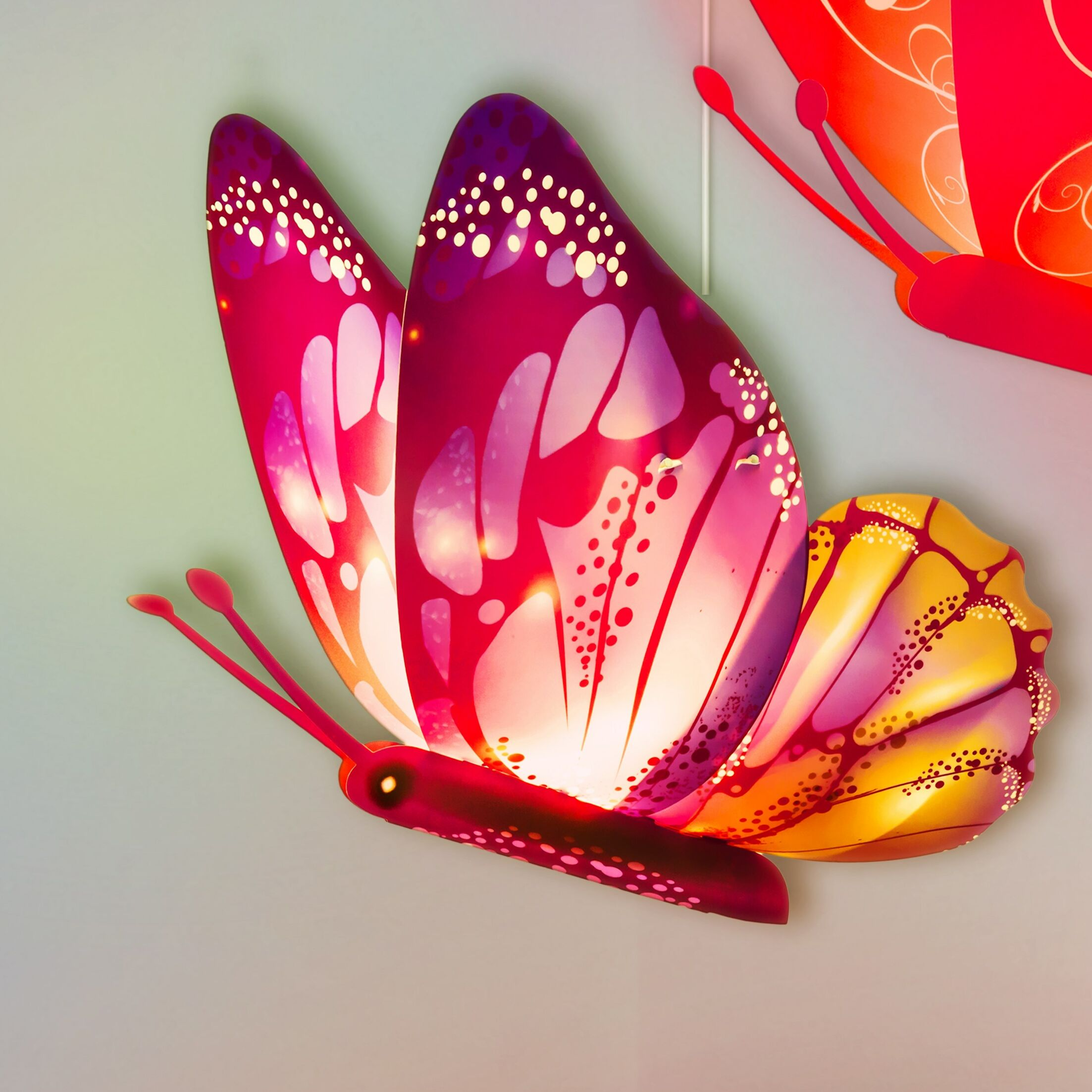 Buddylitez Butterflies 1-Light Novelty Pendant