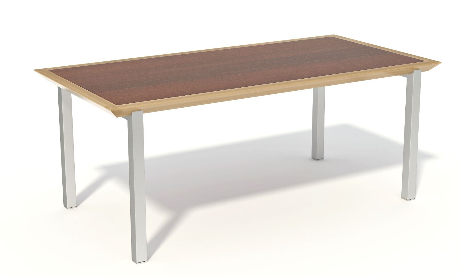 Fluid Rectangular Conference Table