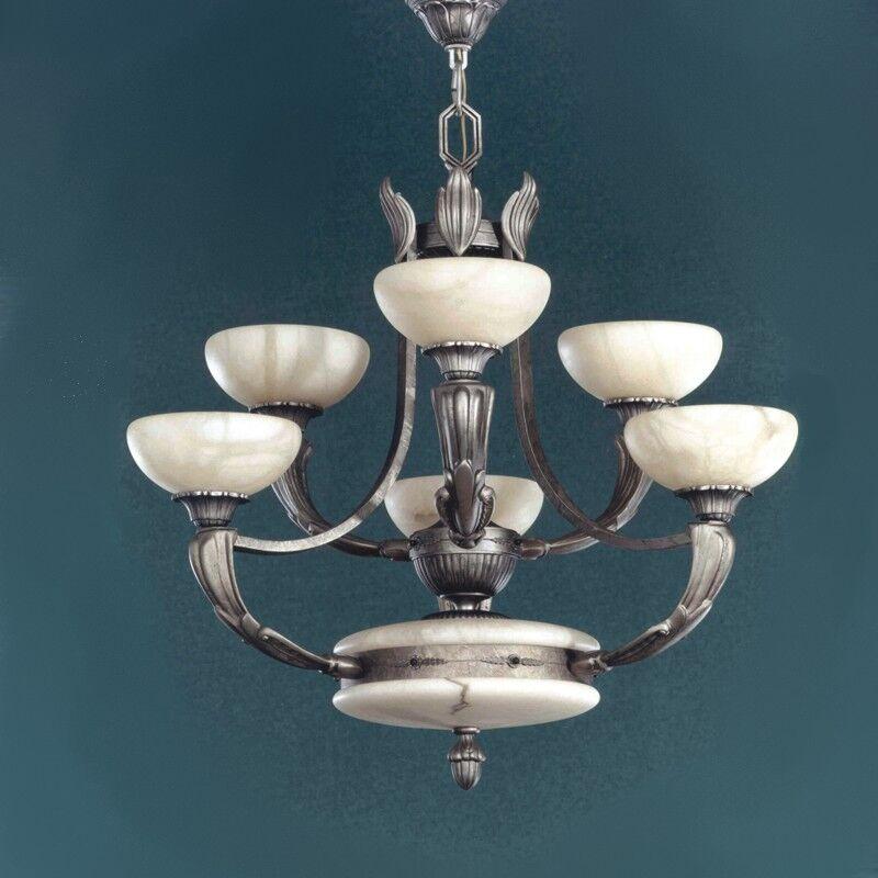 Osma 6-Light Shaded Chandelier