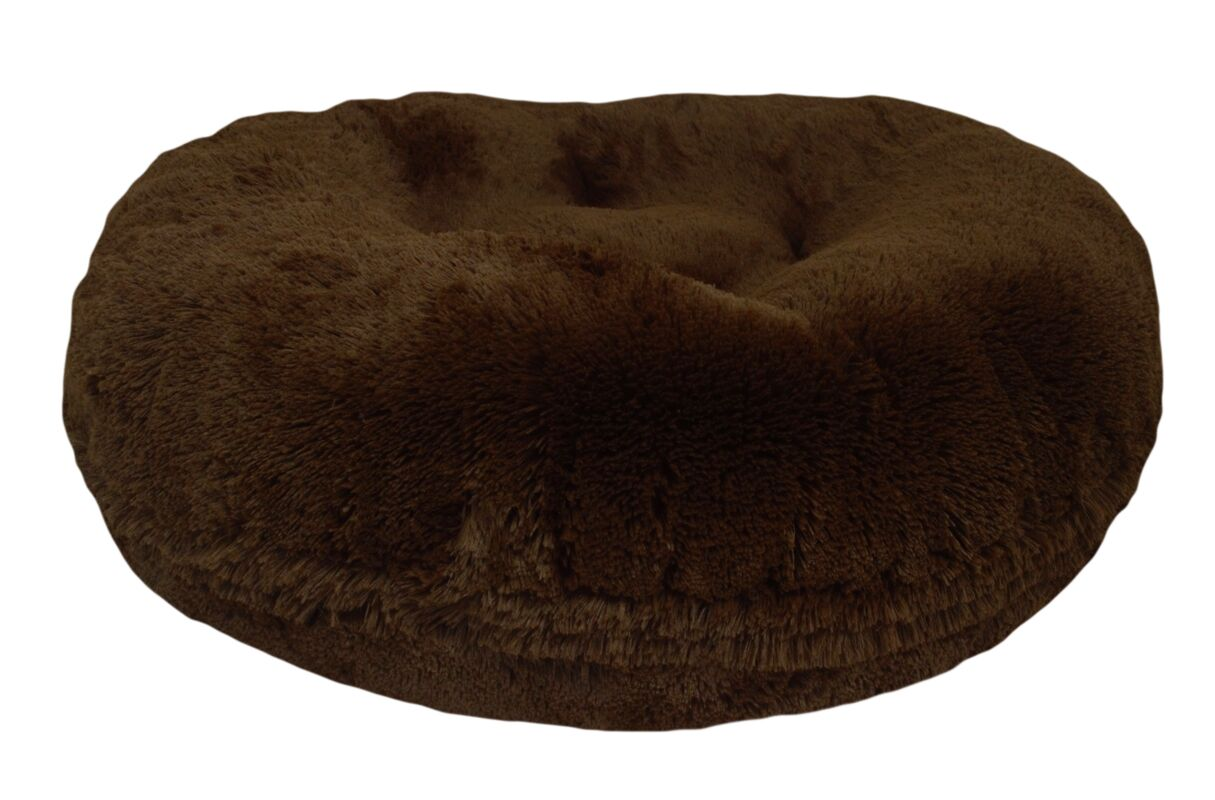 Bagel Grizzly Bear Dog Bed