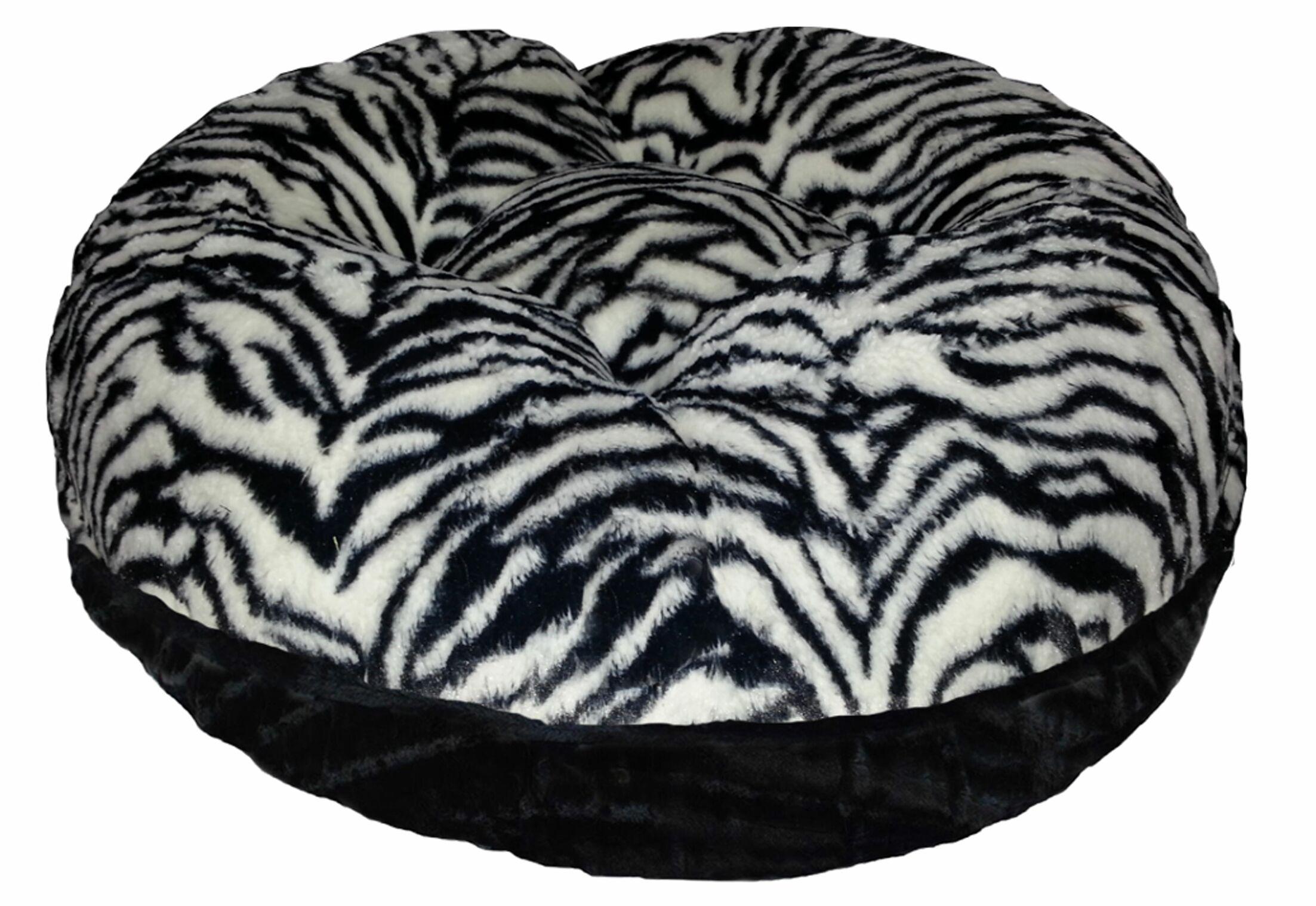 Bagel Zebra Bolster