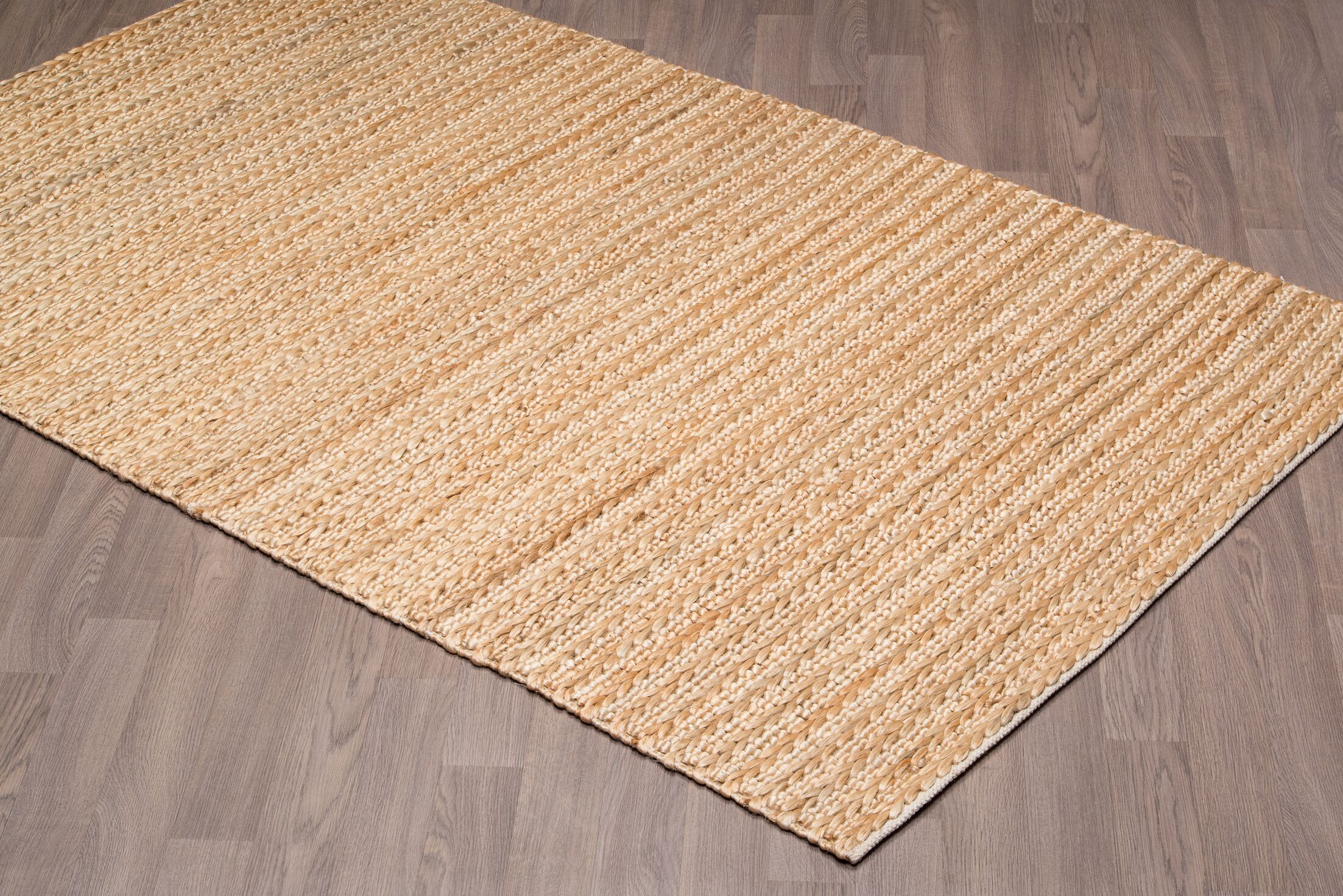 Lanoue Hand-Knotted Beige Area Rug Rug Size: Rectangle 5' x 8'