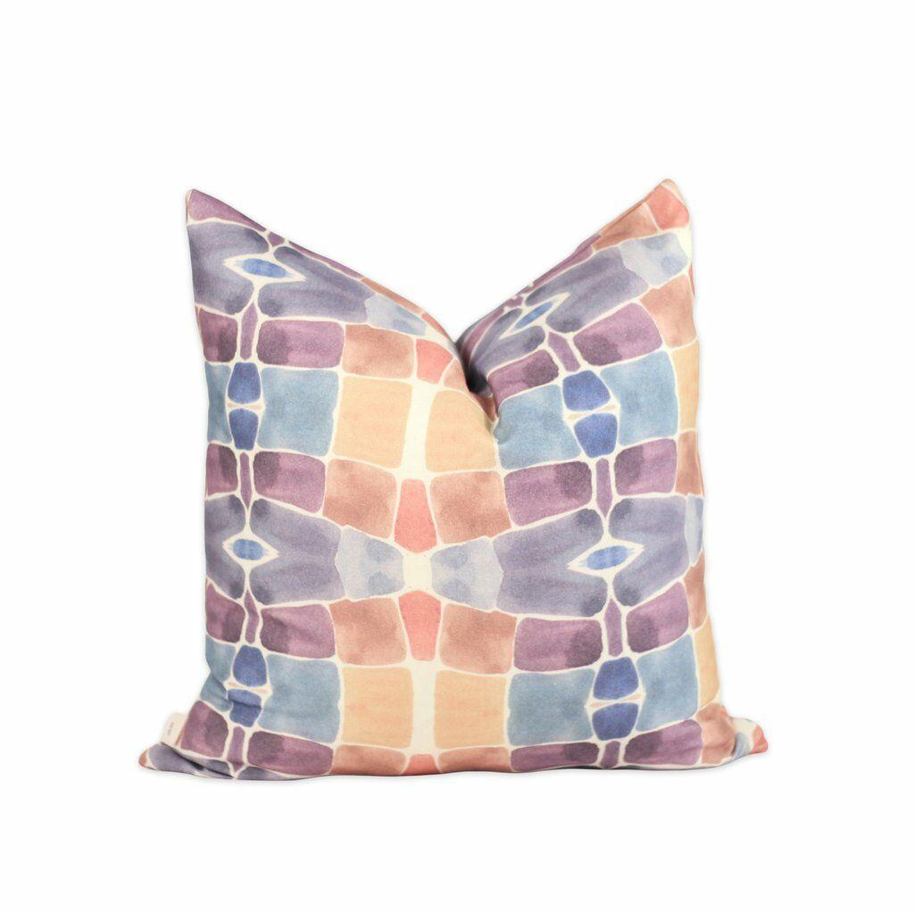 Barcelona Throw Pillow Size: 20