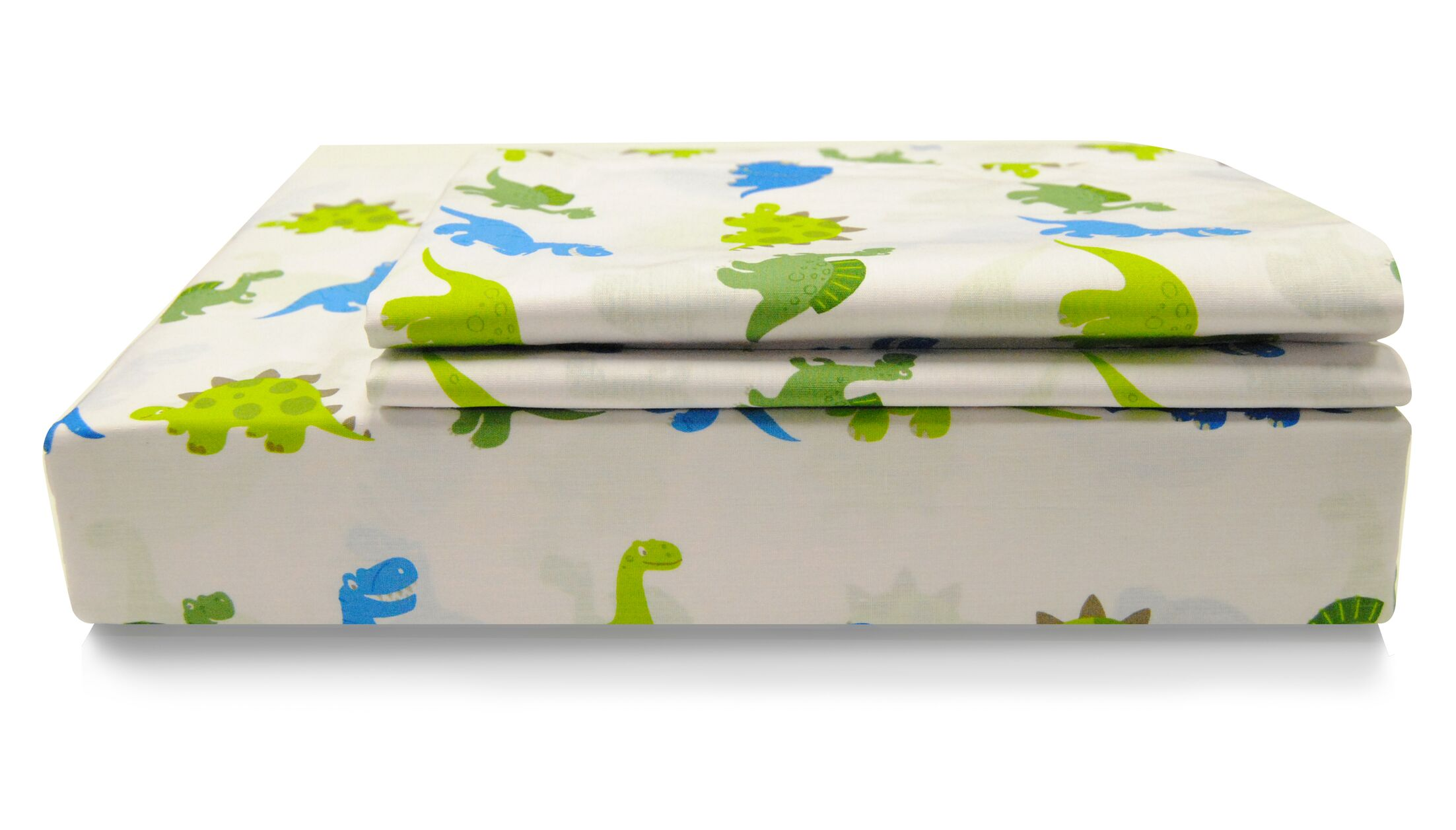 Marching Dino 200 Thread Count 100% Cotton Sheet Set (Set of 15) Size: Full