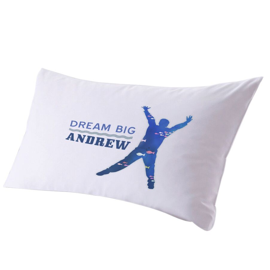 Personalized Follow Your Dreams Pillow Case