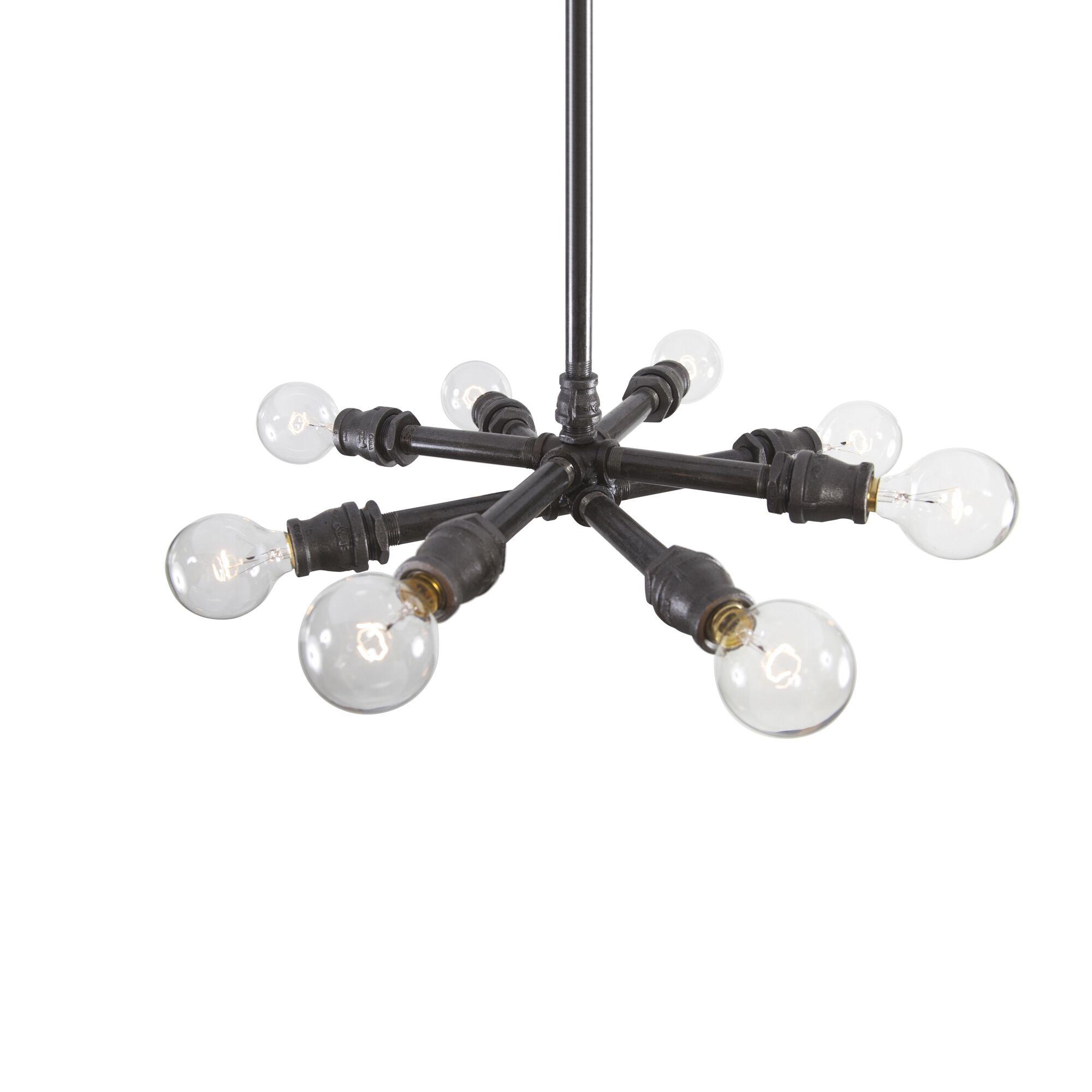 Sputnik 8-Light Chandelier