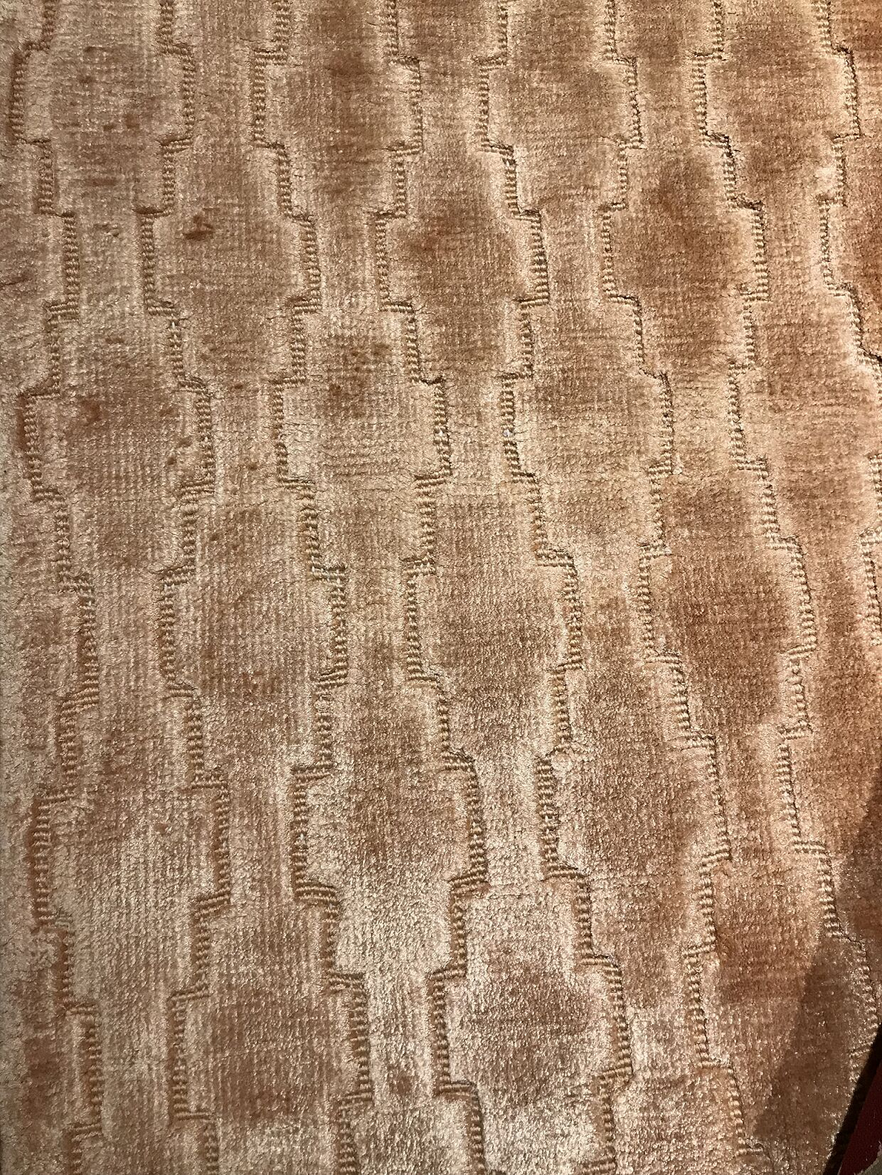Modern Hand-Knotted Wool Brown Area Rug Rug Size: Rectangle 8'2