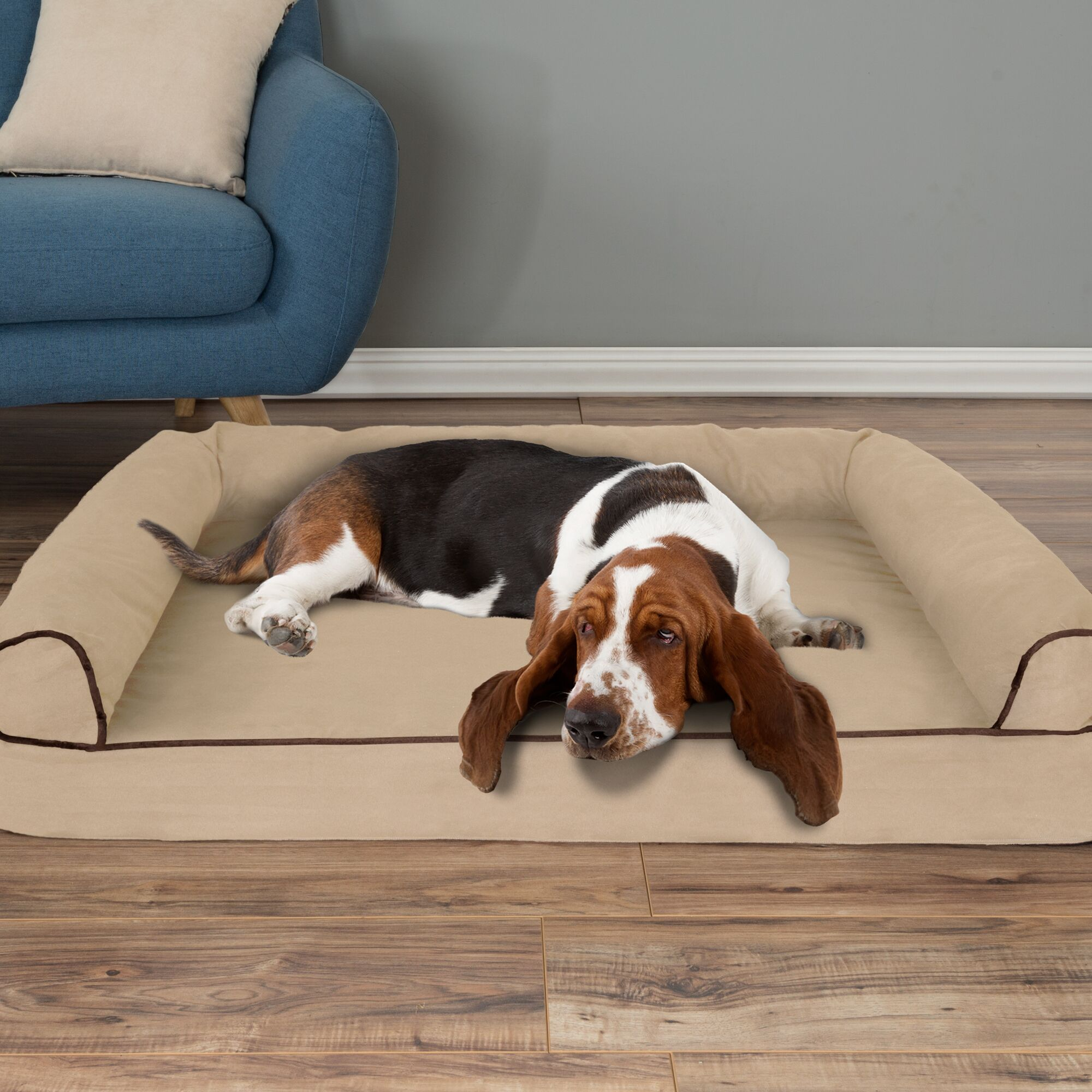 Orthopedic Dog Bolster Size: Large (42