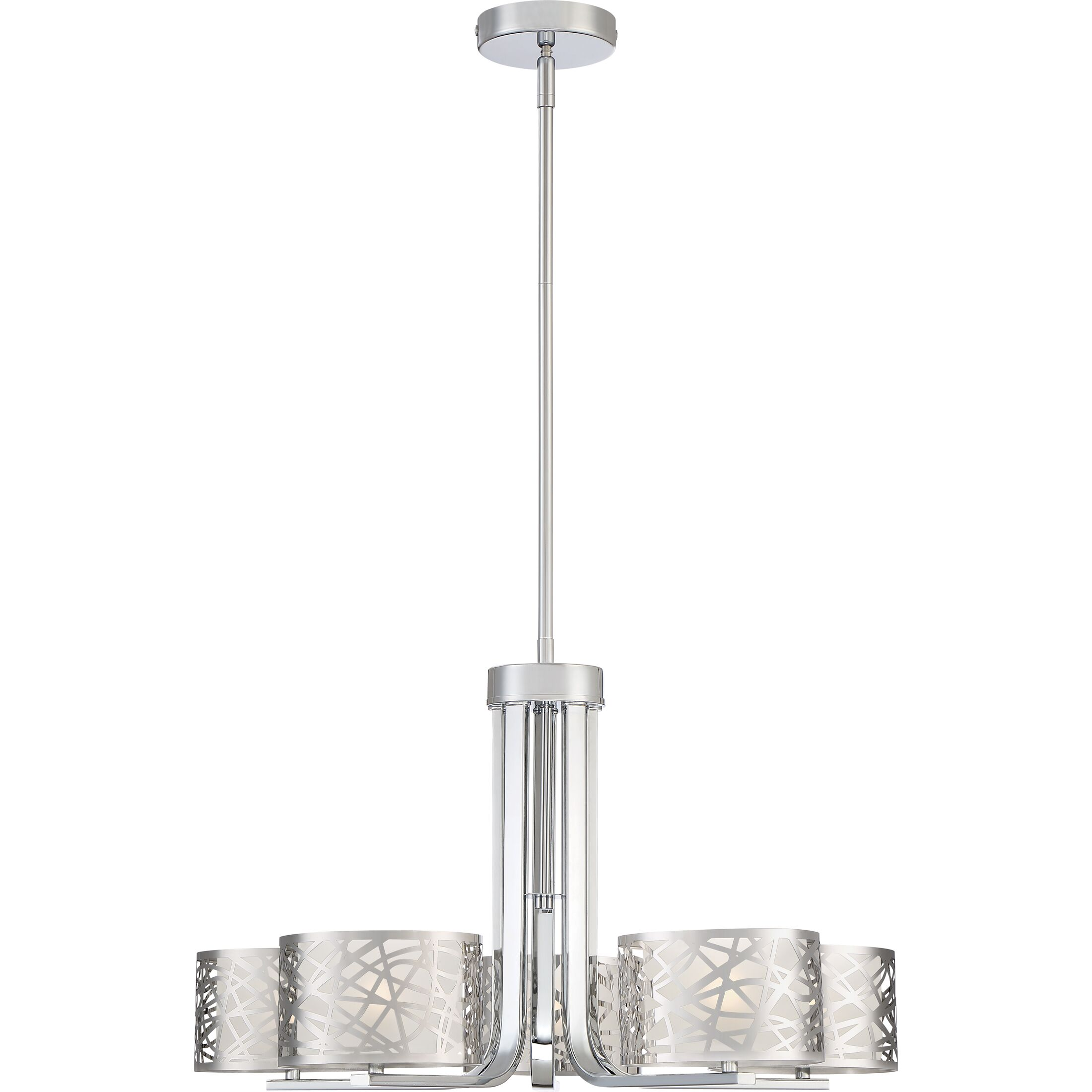 Colleen 5-Light Shaded Chandelier