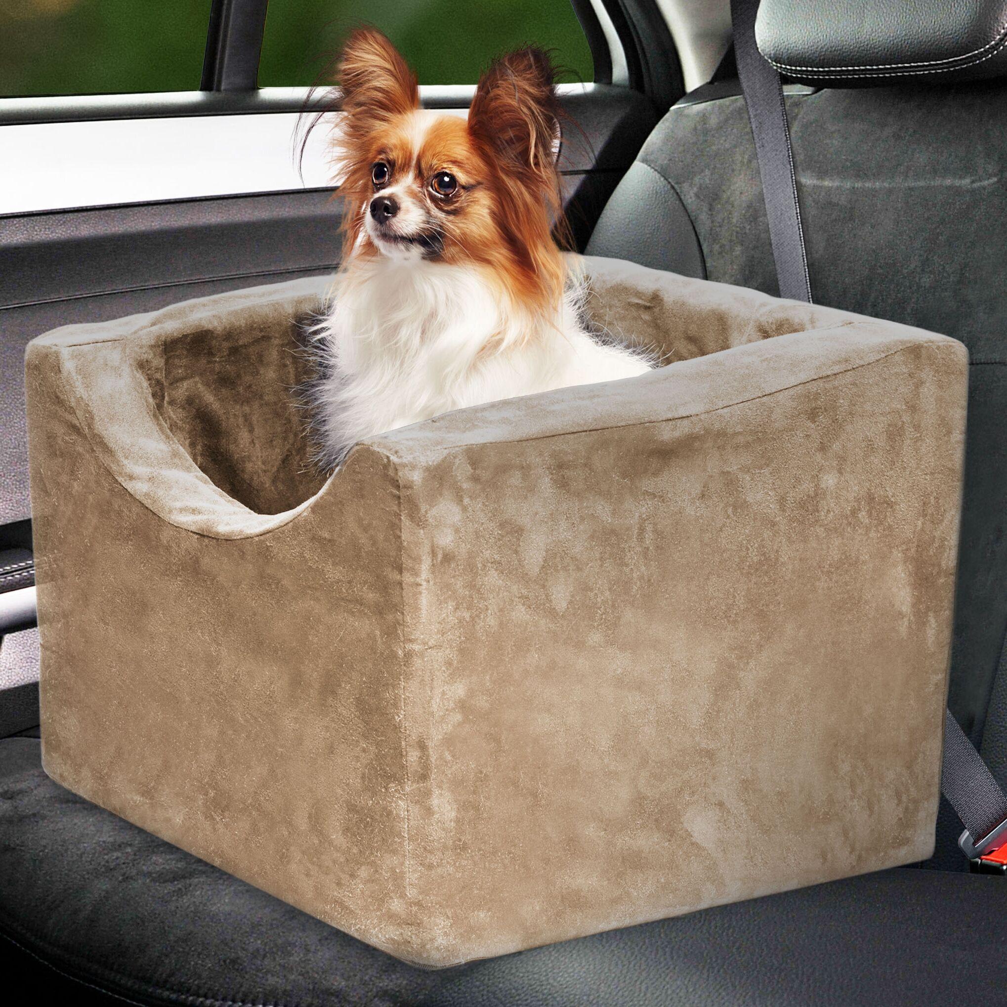 Dormer Booster Seat Pet Carrier Color: Camel