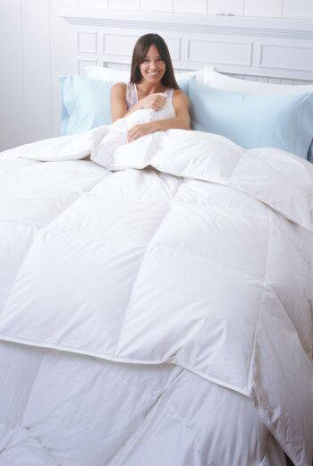 Sierra Heavyweight Down Comforter Size: Twin