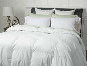 Classic Heavyweight Down Comforter Size: King