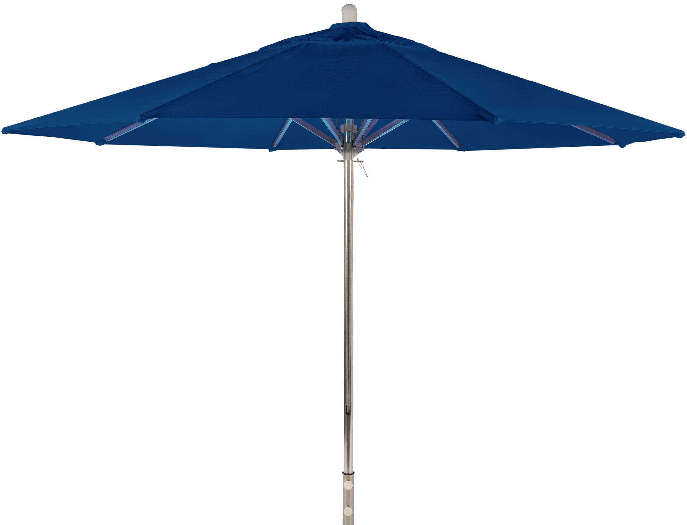 Newport Coast 11' Market Umbrella Color: Pacific Blue