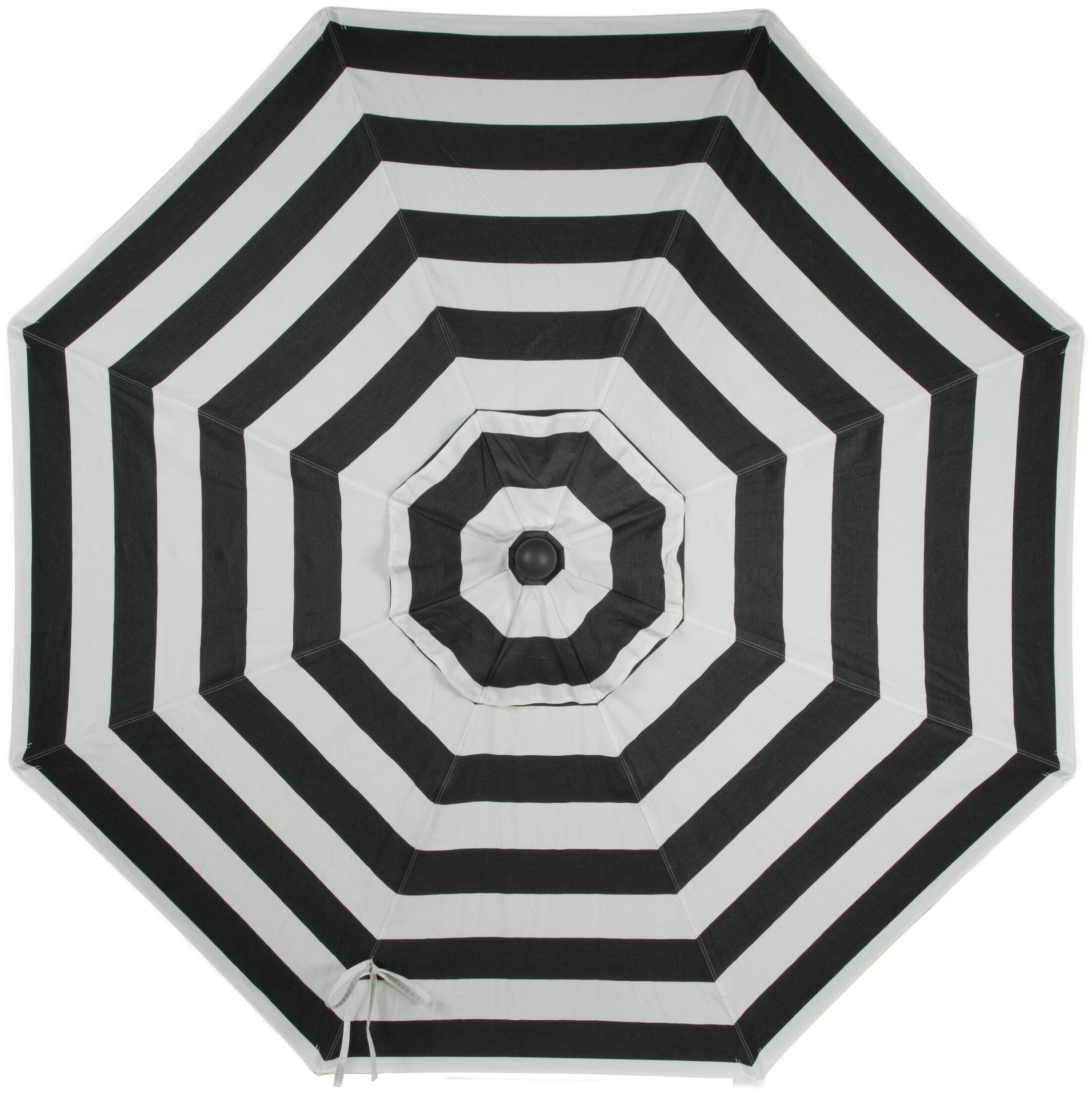 Wiebe Auto Tilt 9' Market Sunbrella Umbrella Fabric Color: Cabana Regatta, Frame Color: White Sand
