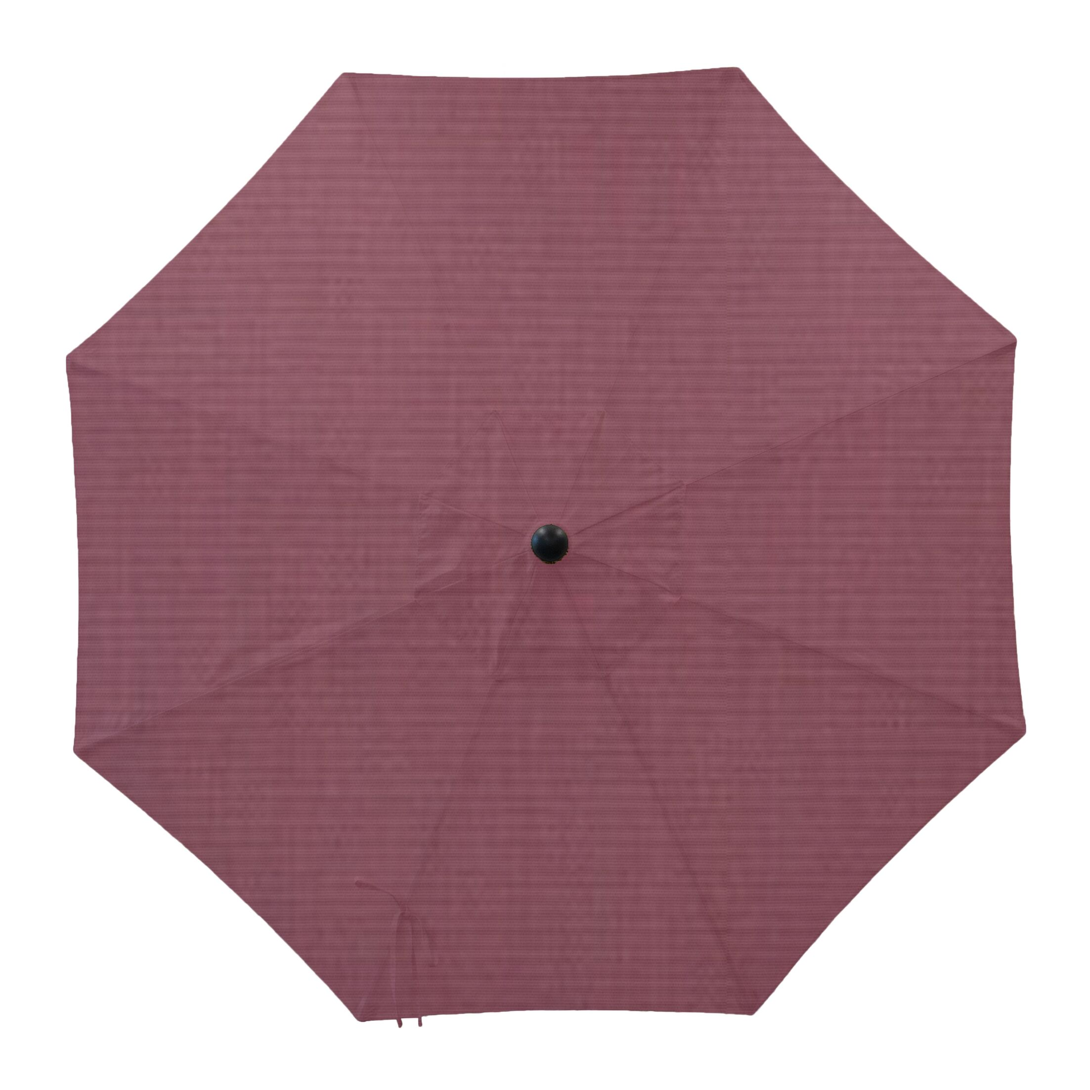 Patio Umbrella Covers Color: Iris