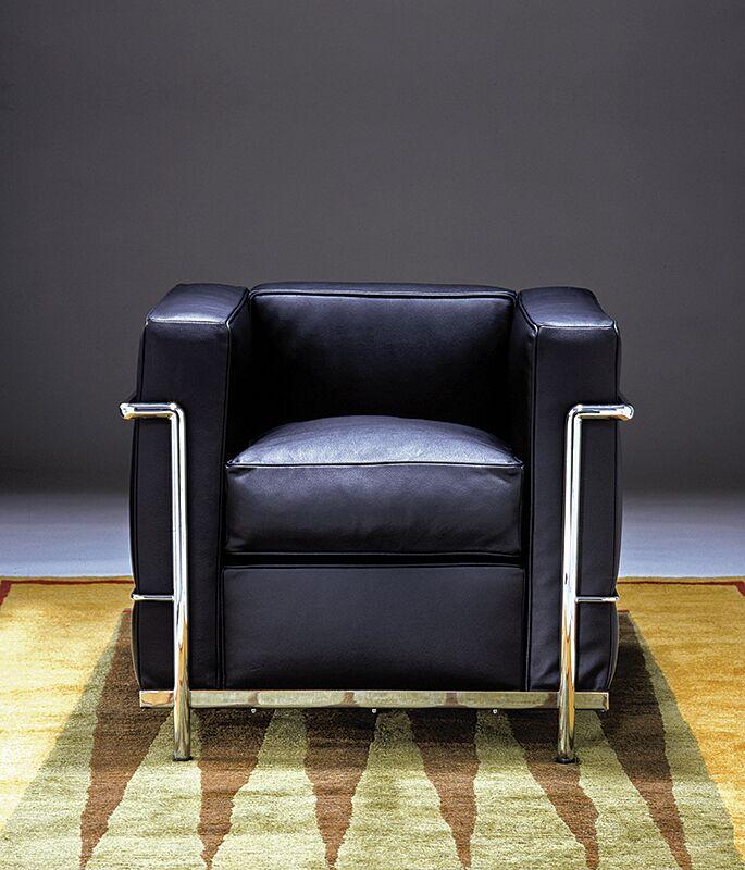 Le Corbusier Petit Comfort Leather Lounge Chair