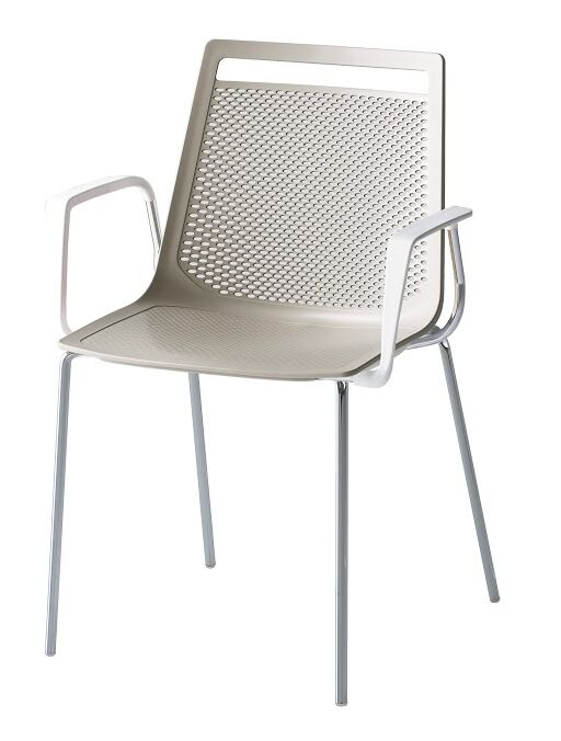 Akami Guest Chair Seat Color: Gray