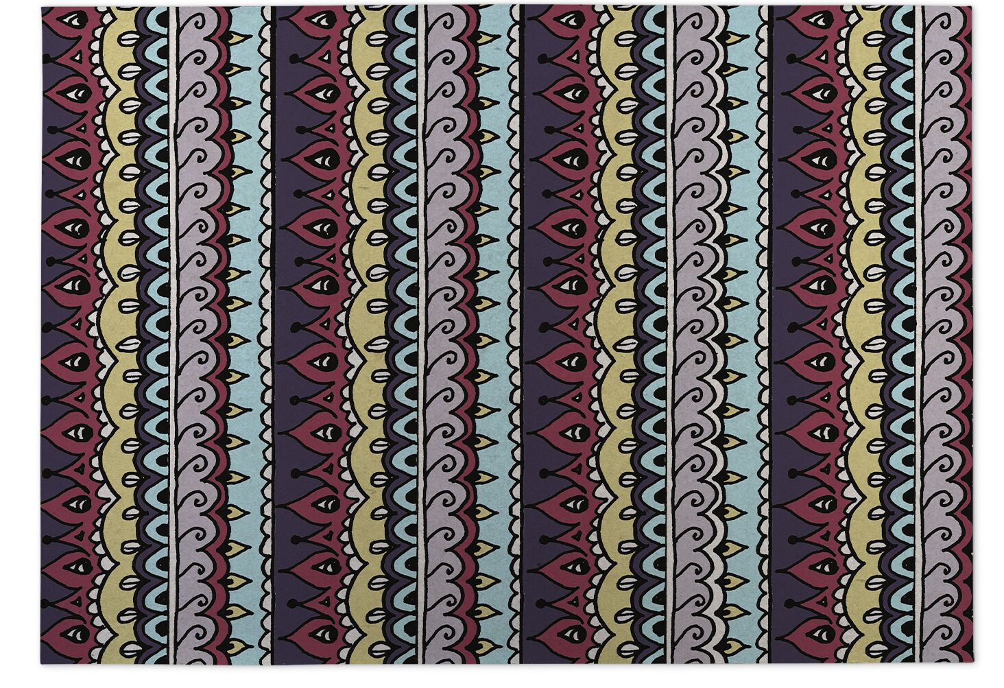 Kitchen Mat Mat Size: Square 8'