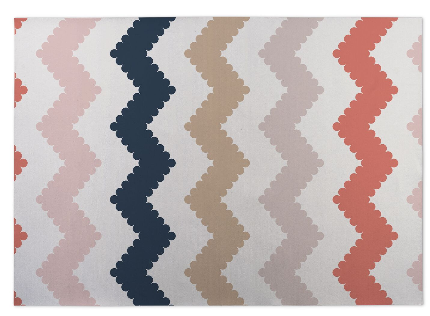Play Chevron Kitchen Mat Mat Size: Rectangle 5' x 7'