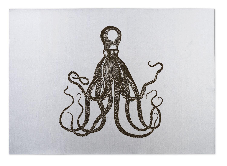 Octopus Indoor/Outdoor Doormat Mat Size: Rectangle 5' x 7'