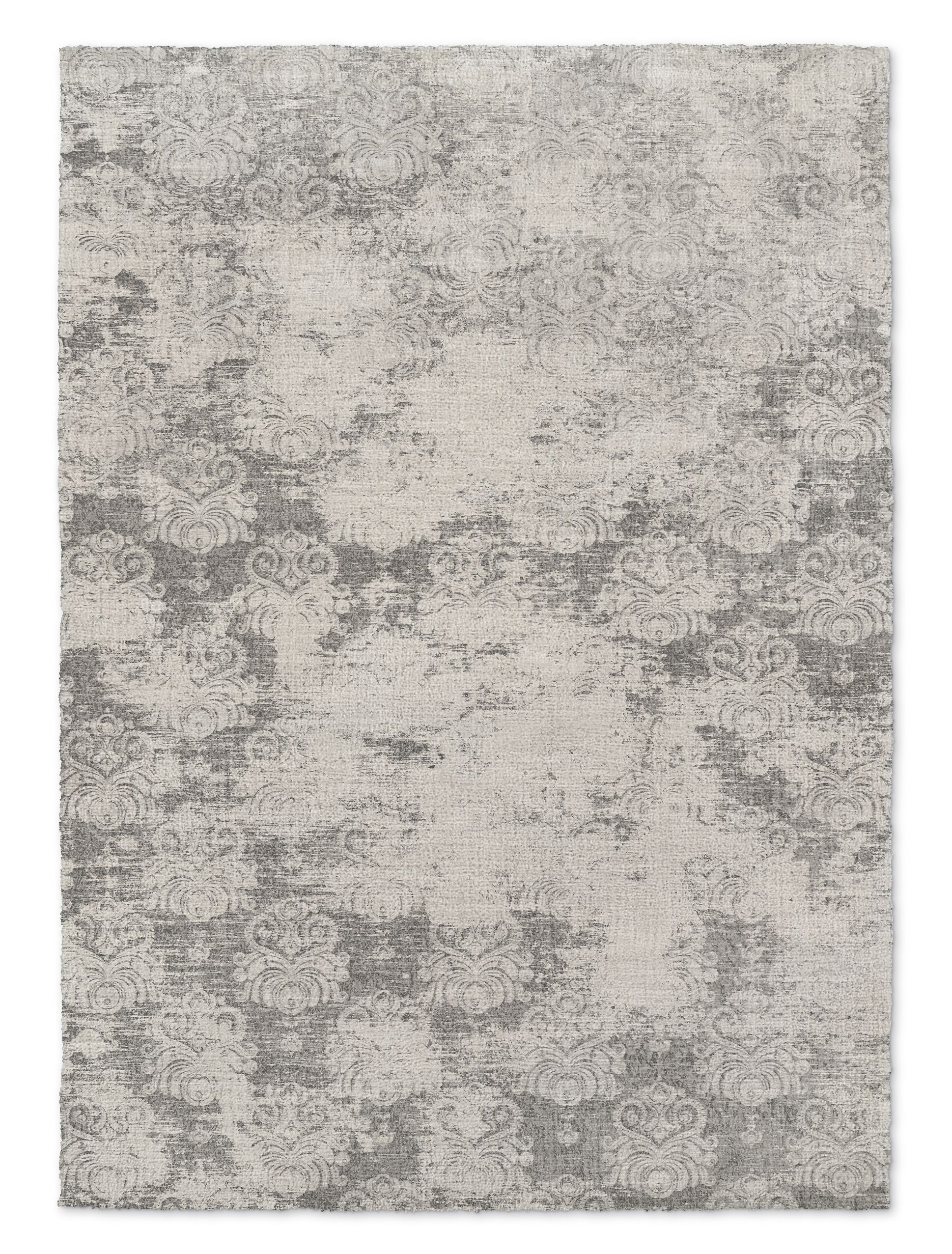 Victoire Gray Area Rug Rug Size: Rectangle 2' x 3'