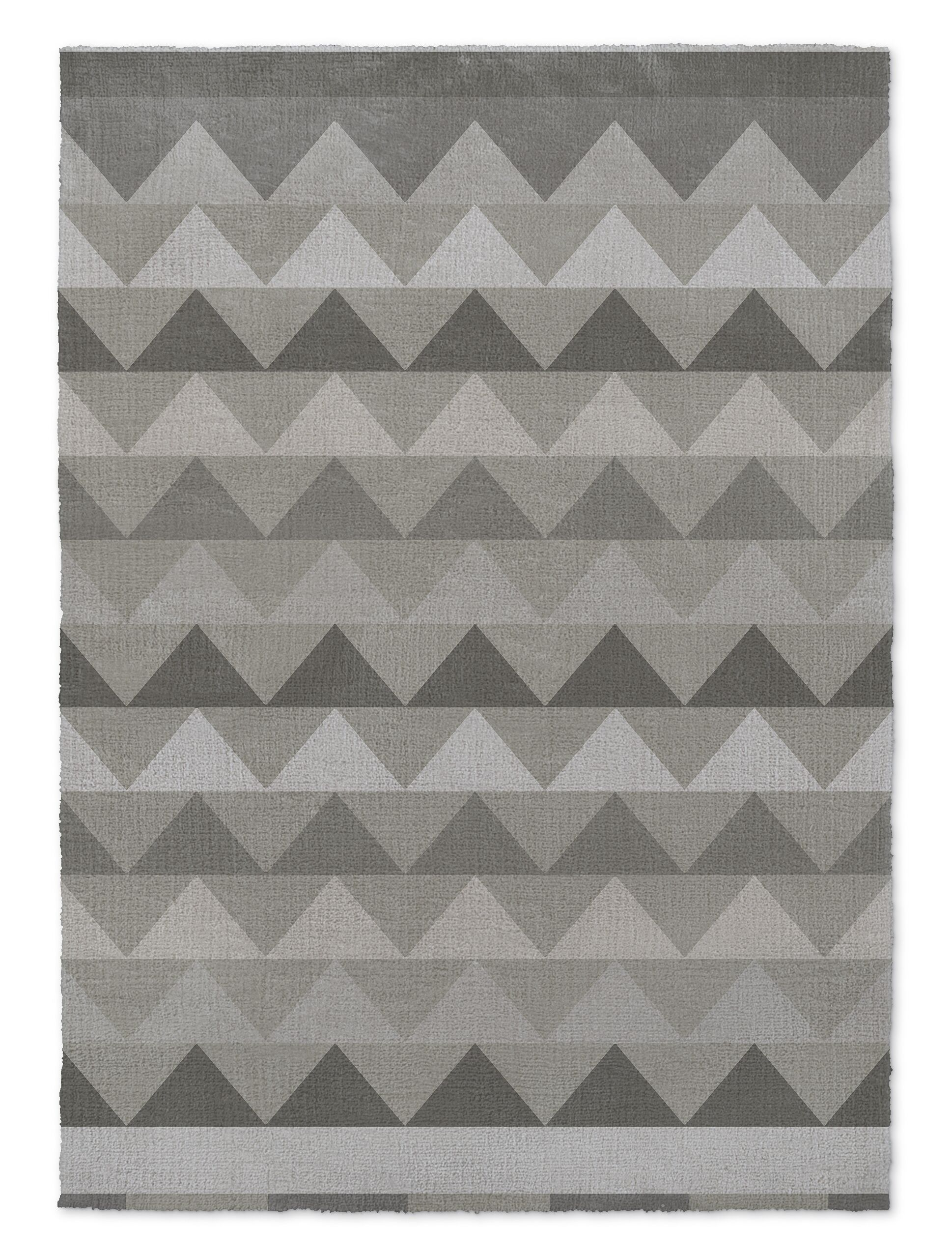 Gavin Gray Area Rug Rug Size: Rectangle 8' x 10'
