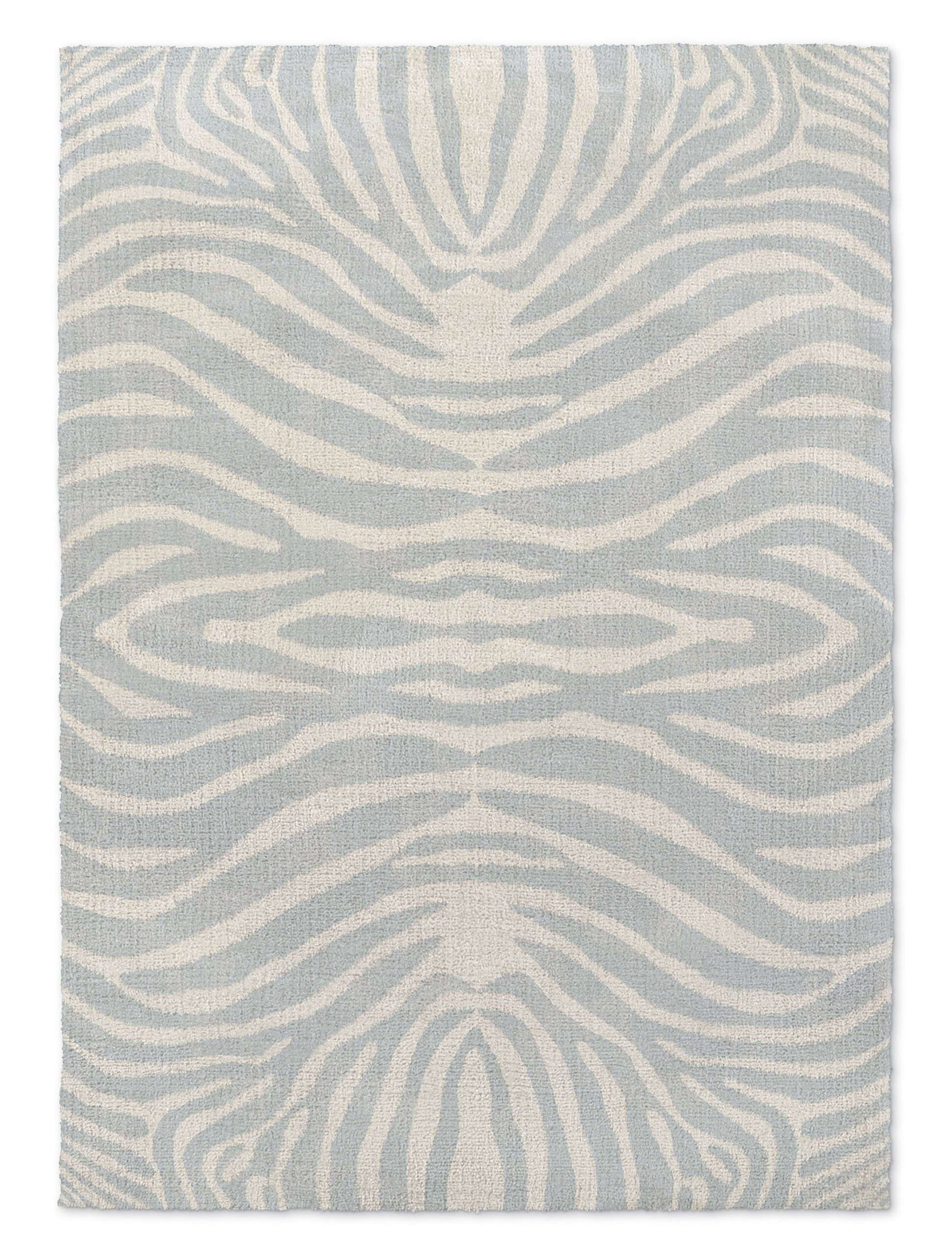 Nerbone Gray/Beige Area Rug Rug Size: Rectangle 8' x 10'