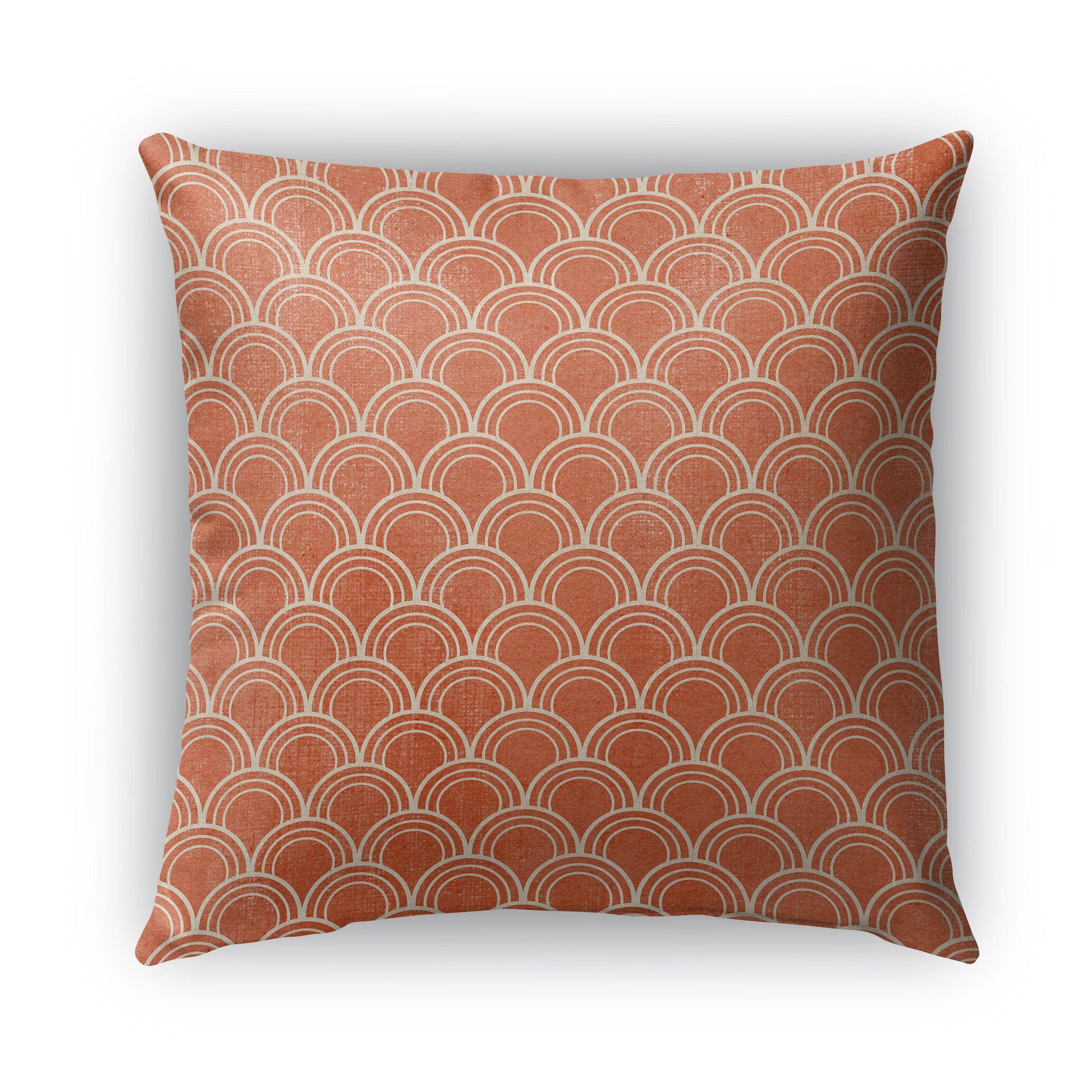 Modena Indoor/Outdoor Throw Pillow Size: 26