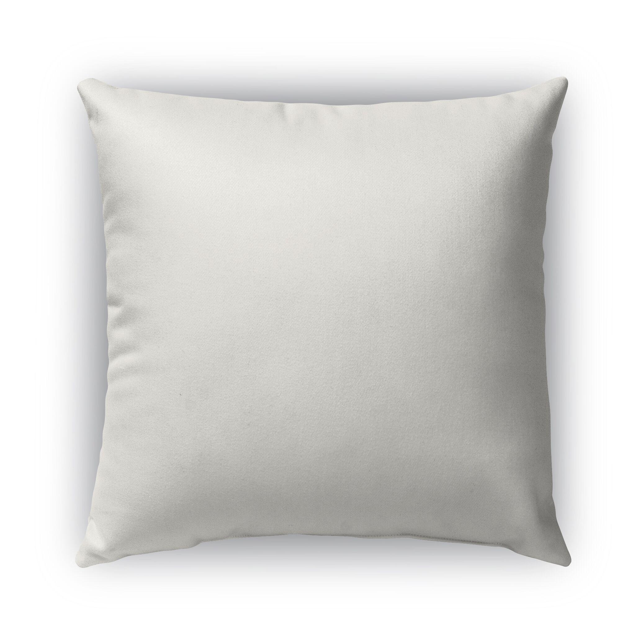 Oasis Burlap Indoor/Outdoor Pillow Size: 26