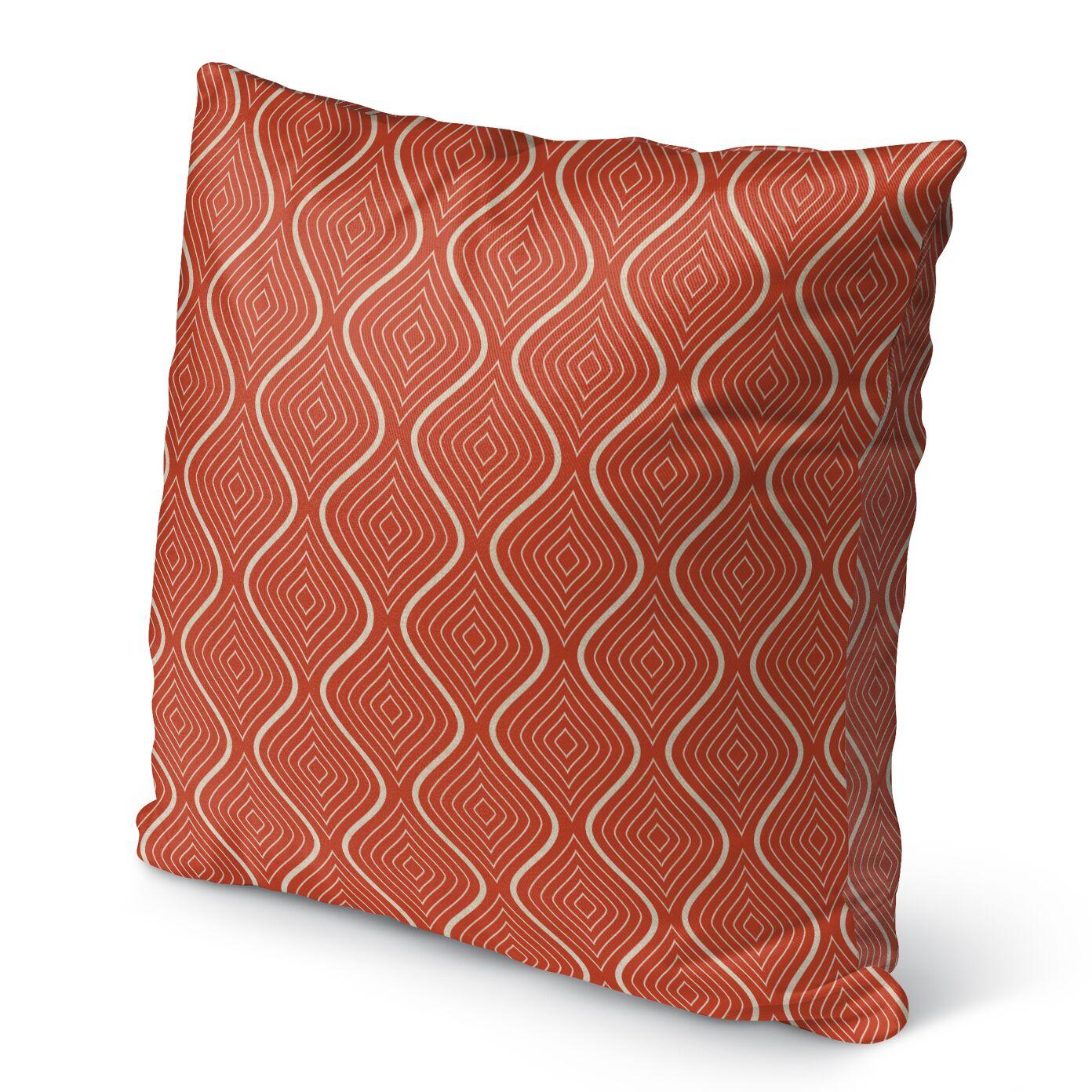 Brescia Burlap Indoor/Outdoor Pillow Size: 26