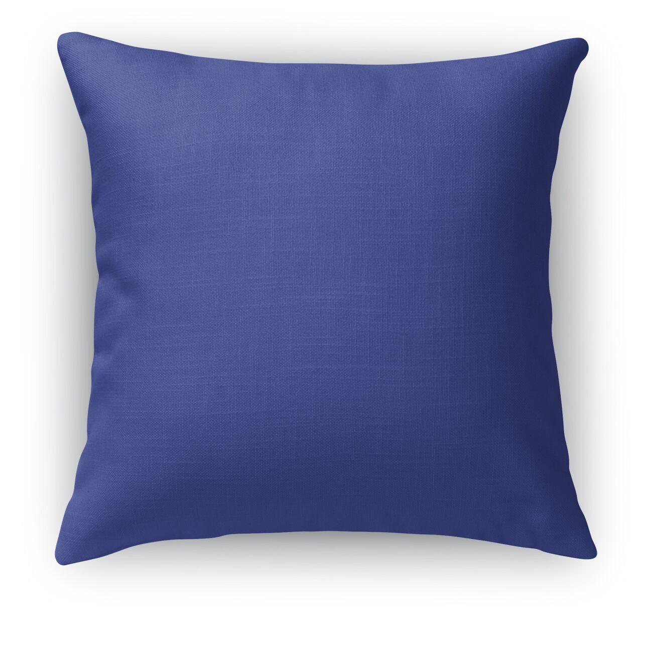 Large Diamond Burlap Indoor/Outdoor Pillow Size: 26
