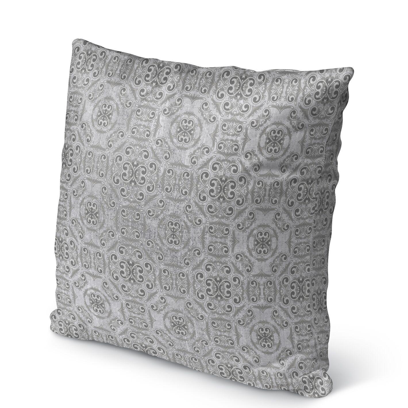 Bilbao Burlap Indoor/Outdoor Pillow Size: 26