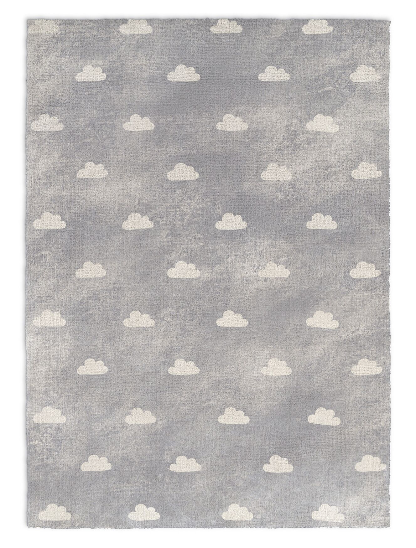 Alzado Gray Area Rug Rug Size: Rectangle 8' x 10'