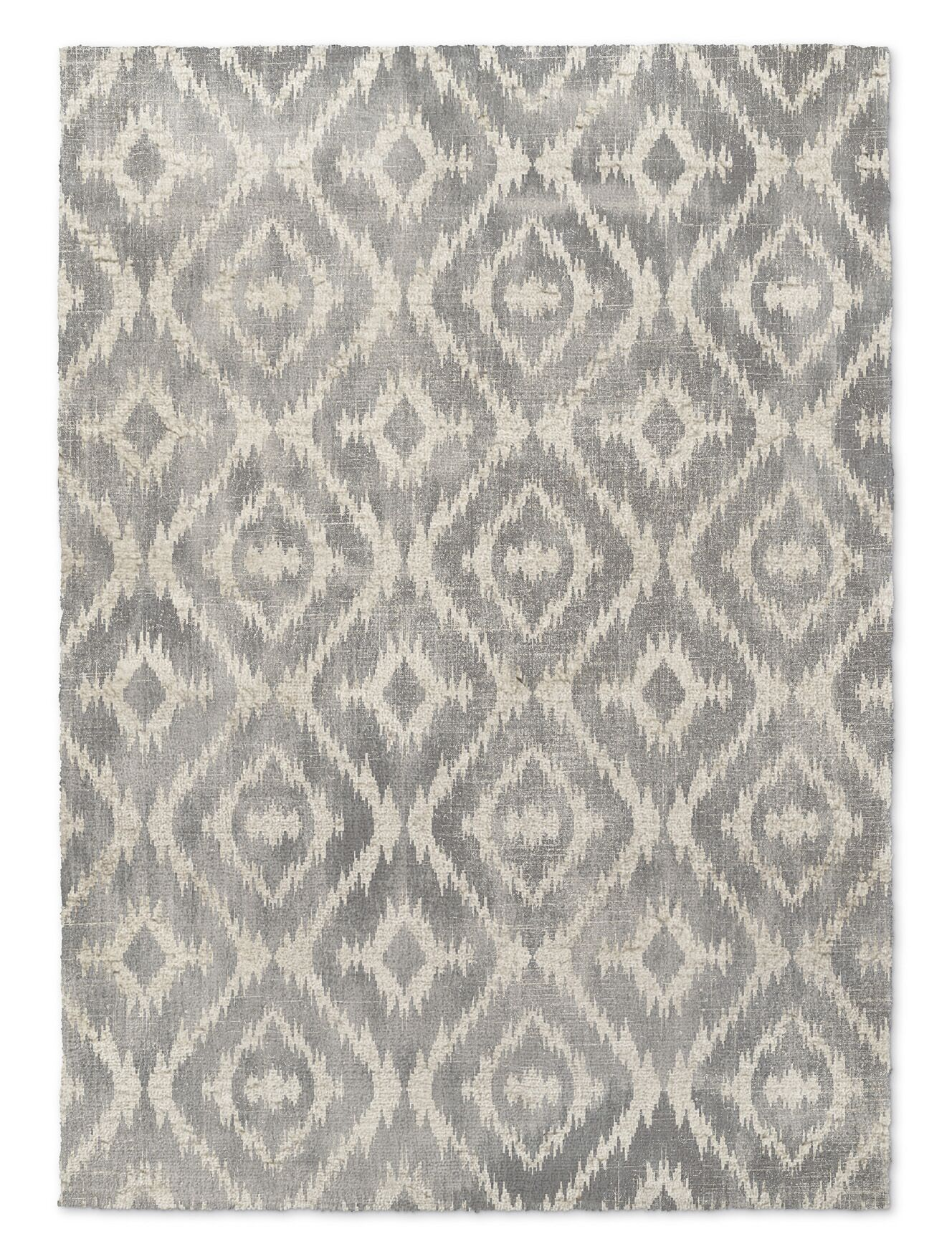 Laplant Gray Area Rug Rug Size: Rectangle 2' x 3'