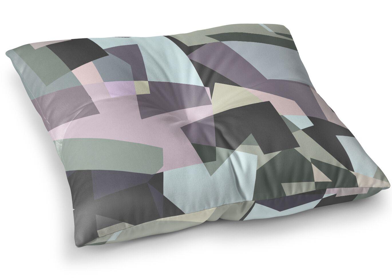 Blocks Floor Pillow Size: 26