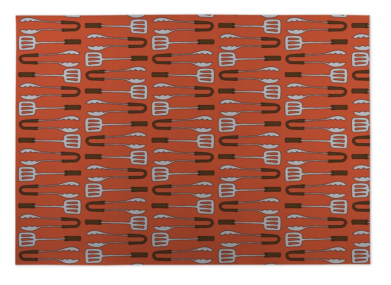 Rex BBQ Indoor/Outdoor Doormat Mat Size: 8' x 10'