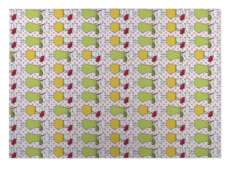 Chauncey Cocktails Indoor/Outdoor Doormat Mat Size: Square 8'