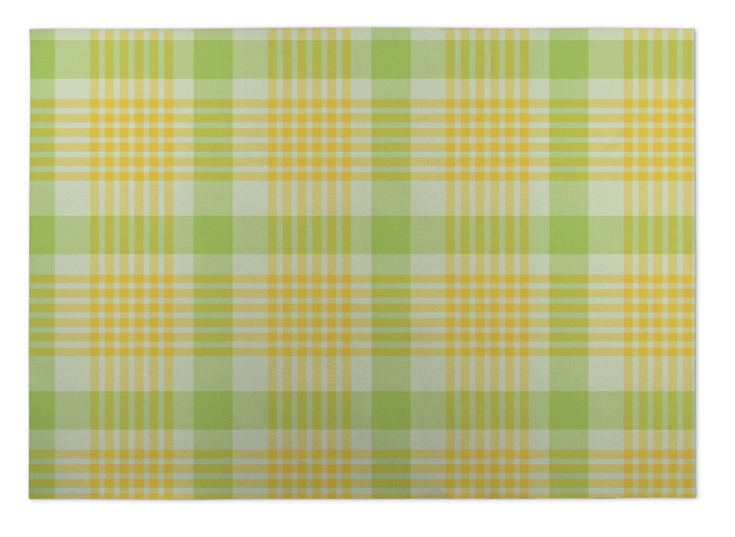 Guilford Floral Plaid Indoor/Outdoor Doormat Mat Size: Rectangle 5' x 7'