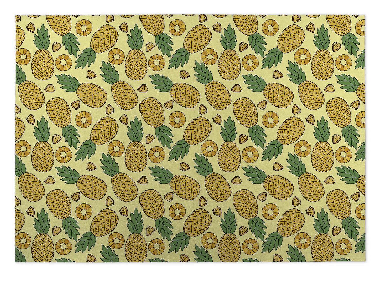 Gisselle Plaid Indoor/Outdoor Doormat Mat Size: 5' x 7'