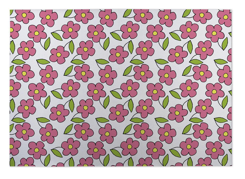 Gladiola Planting Indoor/Outdoor Doormat Mat Size: 8' x 10'