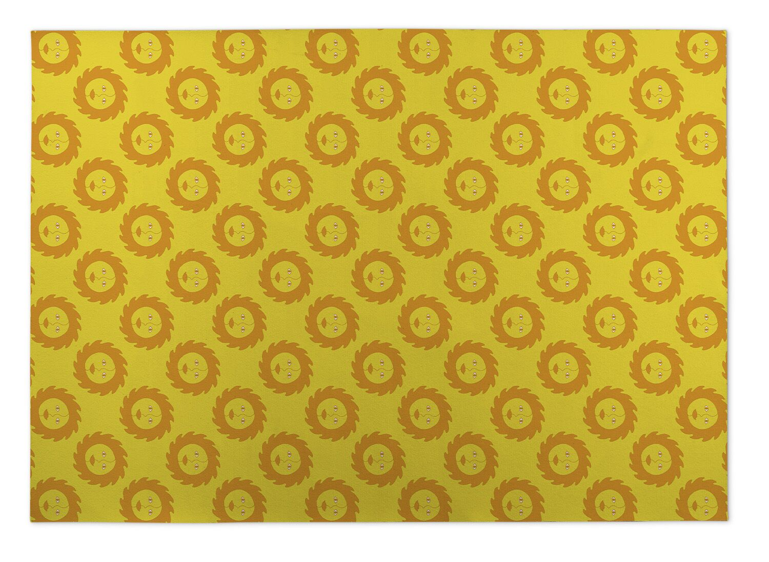 Bernarda Sunshine Indoor/Outdoor Doormat Mat Size: 5' x 7'