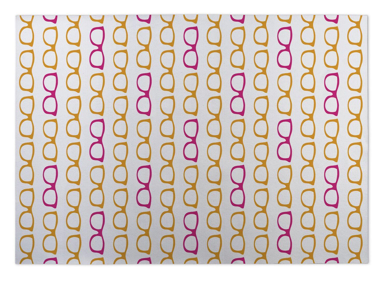 Alverta Sunshine Indoor/Outdoor Doormat Mat Size: 8' x 10'
